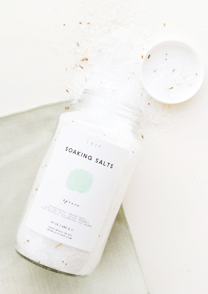 Pure Soaking Salts in Spruce - LEIF