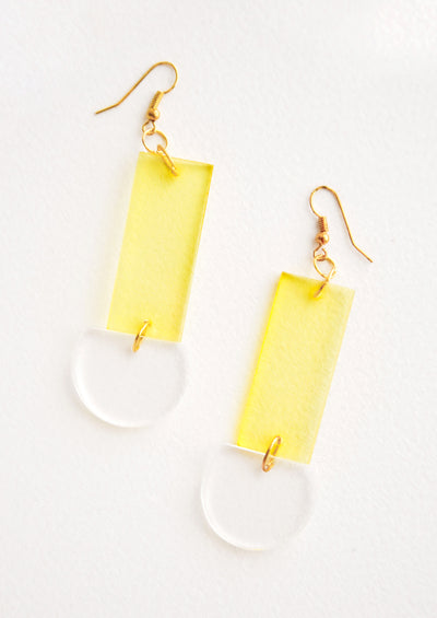 Lennon Lucite Earrings