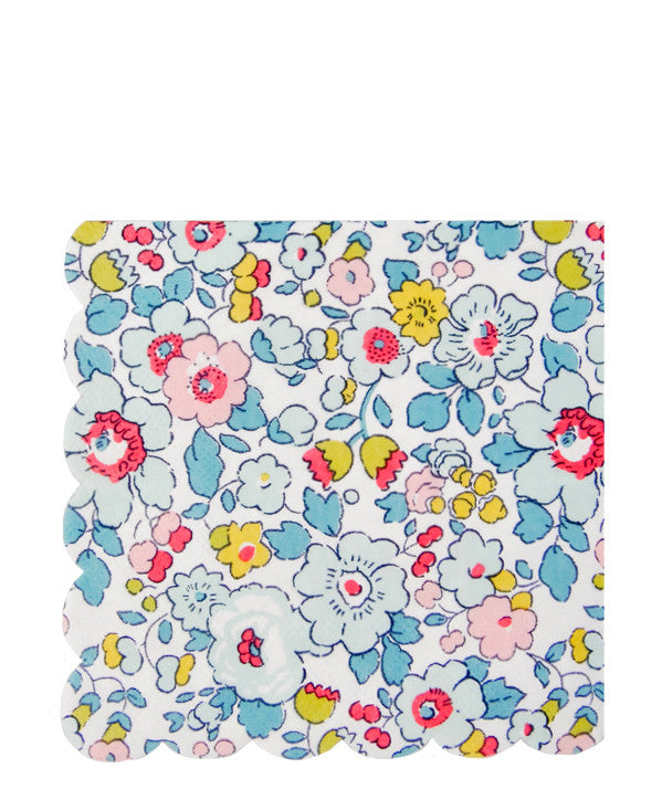 Liberty Floral Paper Napkins - LEIF