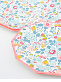 Liberty Floral Paper Plates - LEIF