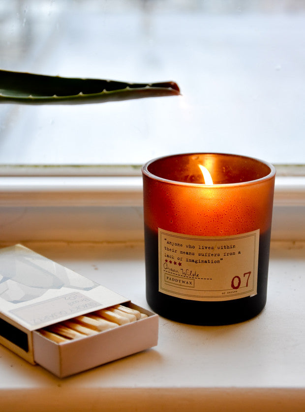 Library Collection Soy Candle - LEIF