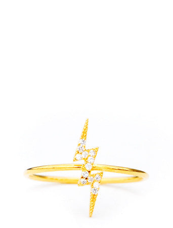 Lightning Bolt Ring - LEIF