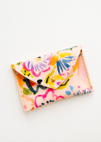 Floral Composition Pocket Wallet