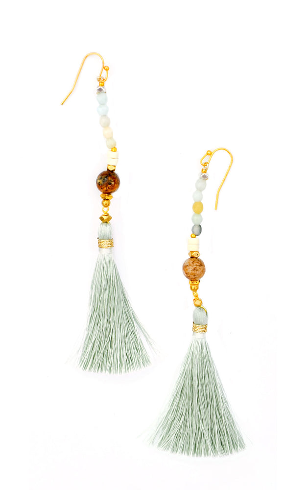 Sea Mist: Linosa Earrings in Sea Mist - LEIF
