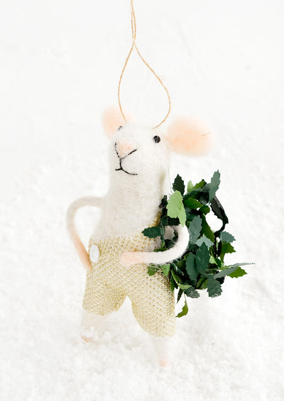 Little Mouse Ornament hover