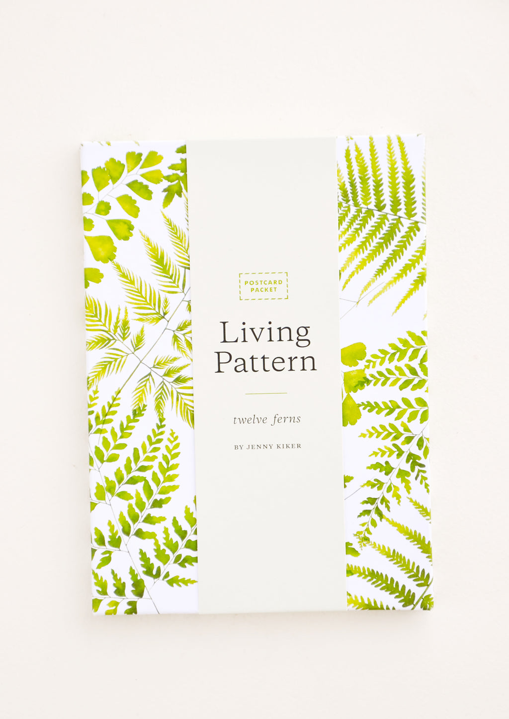 1: Fern Print Postcard Set in  - LEIF