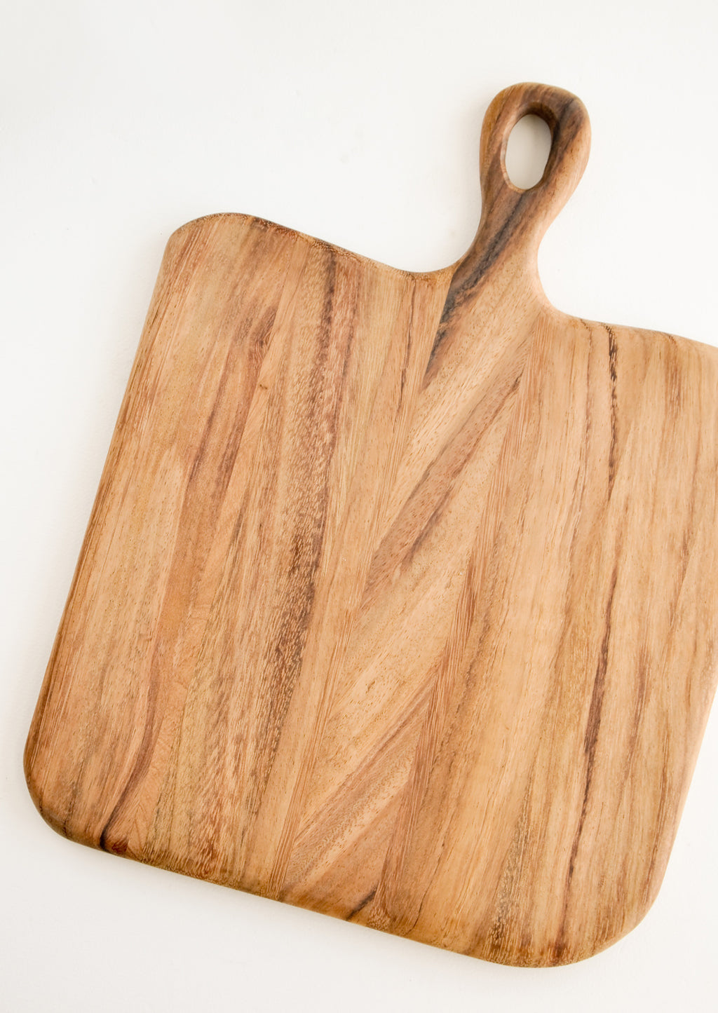 Square [$58.00]: Loop Handle Serving Board in Square [$58.00] - LEIF