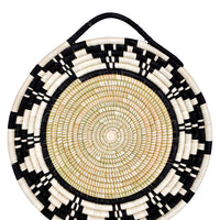 1: Monochrome Sweetgrass Looped Tray in  - LEIF