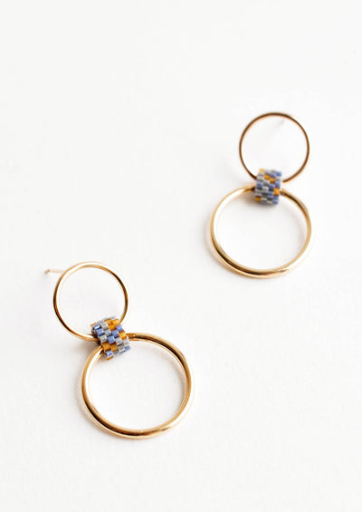 Double Hoop Earrings hover