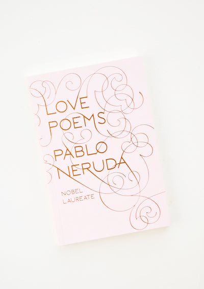 Neruda Love Poems Book