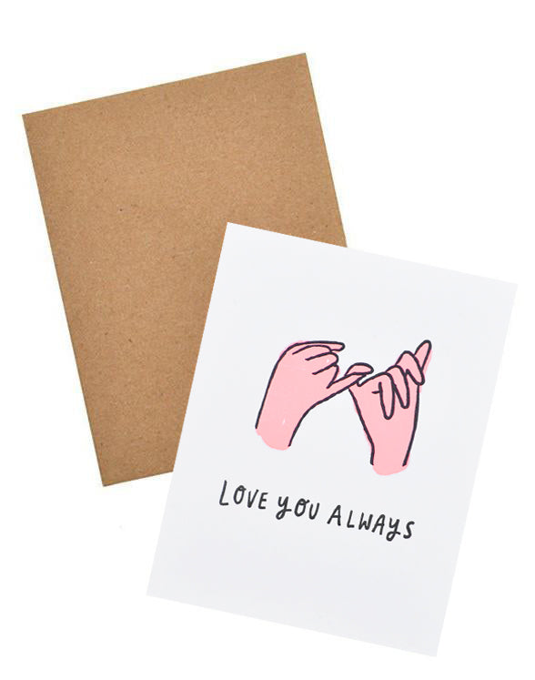 Love You Always Card - LEIF