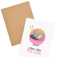 Love You Pho-Ever Card - LEIF