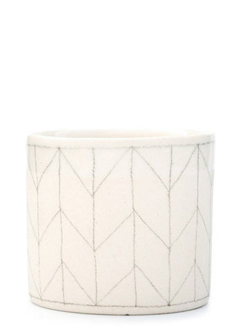 Herringbone Whiskey Cup
