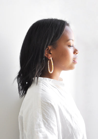 Frances Hoop Earrings hover