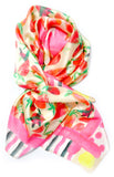 Strawberries & Stripes Scarf - LEIF