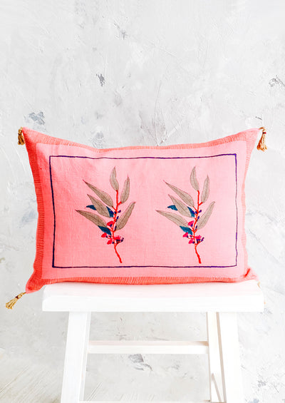 Maha Block Printed Pillow