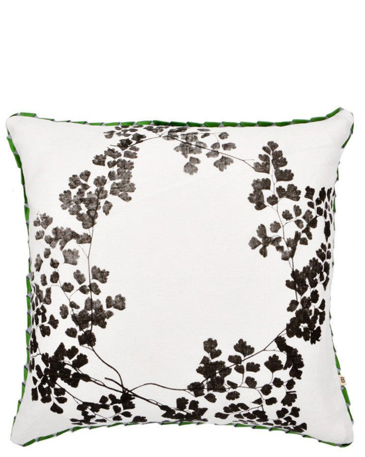 Maidenhair Fern Pillow, 20""