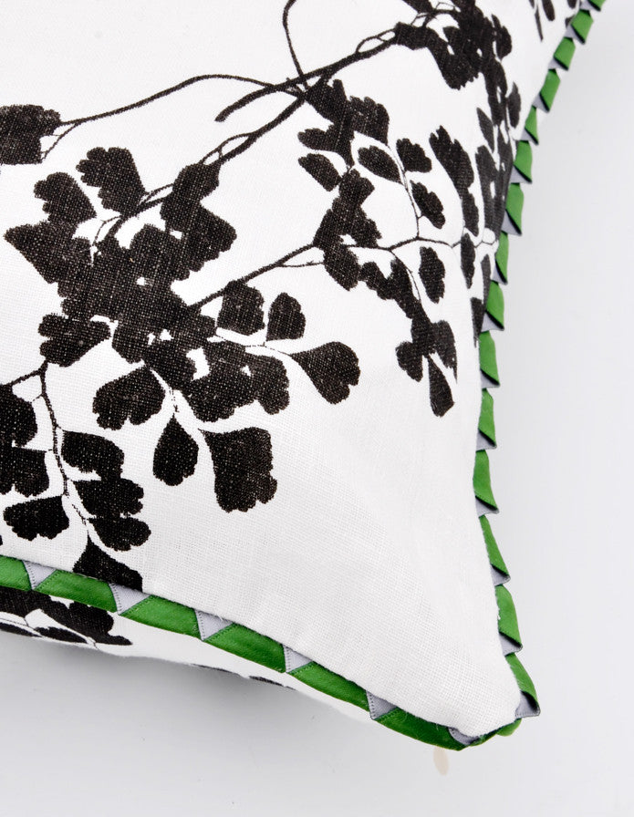 "Maidenhair Fern Pillow, 20"" - LEIF"