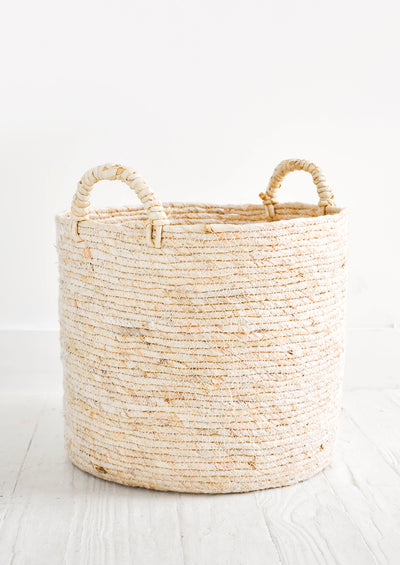 Maiz Woven Storage Basket in  - LEIF