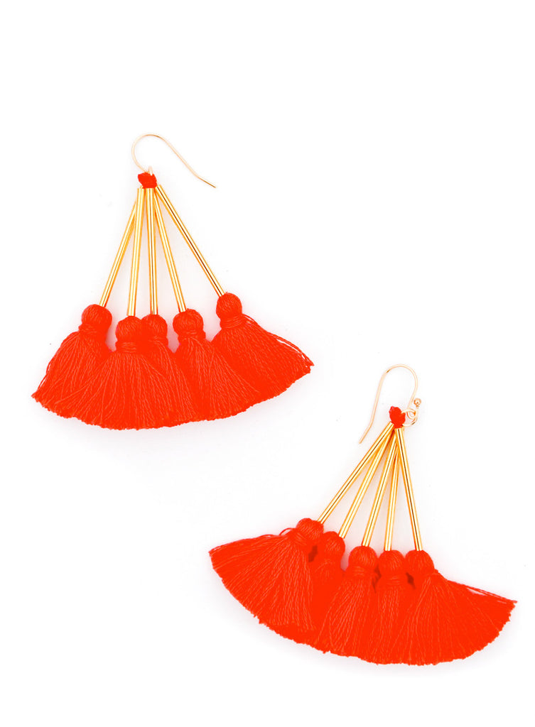 Mala Tassel Earrings - LEIF