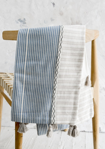 Malabar Paneled Cotton Throw hover
