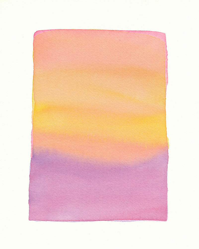 Pink Lavender Gold Soft Fade - LEIF