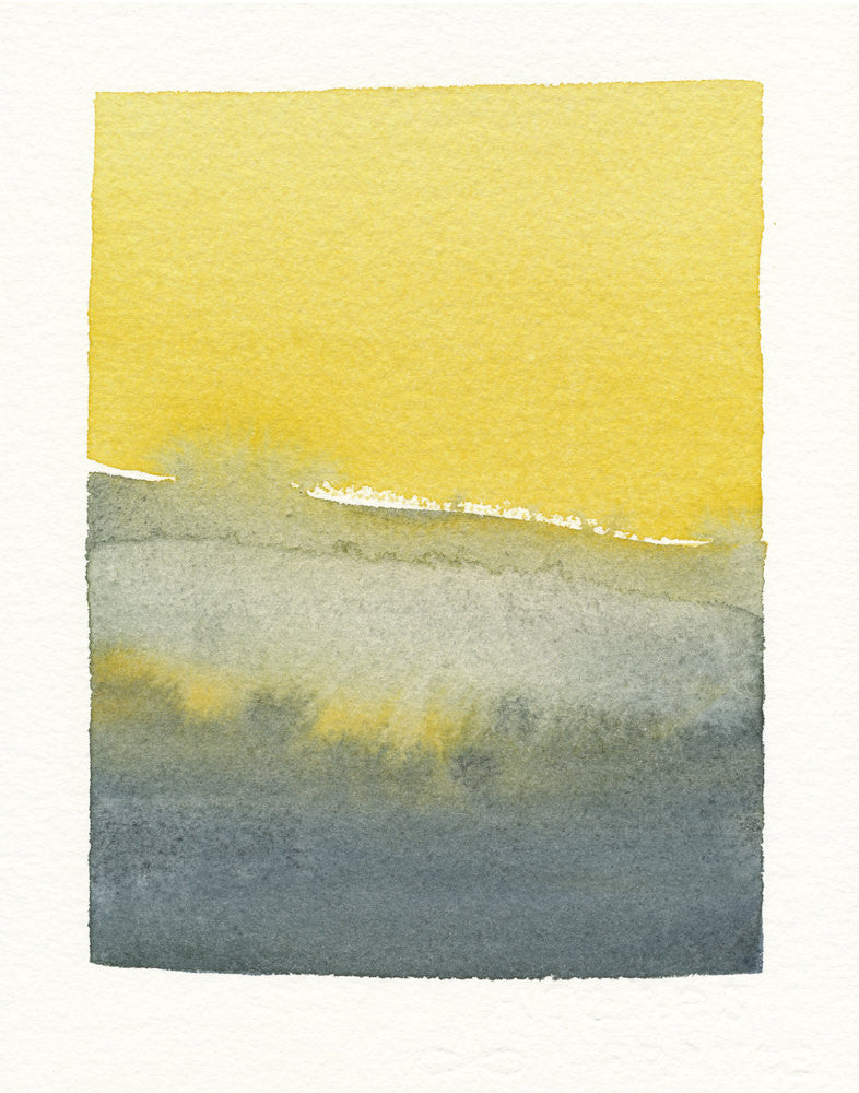 Greys and Mustard Yellow Scene - LEIF