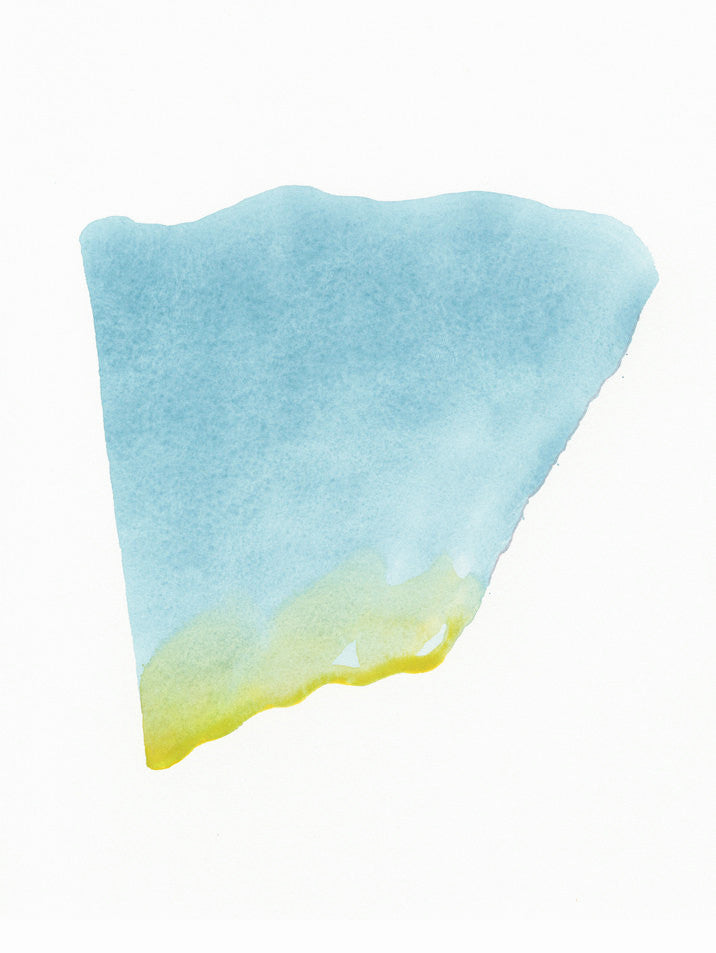 """Wing Shell Fragment in Sea Blue"" - LEIF"