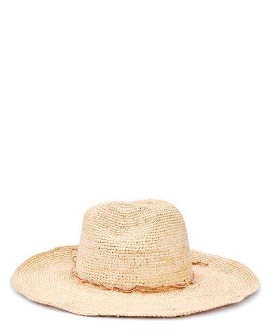 Mika Straw Crochet Hat