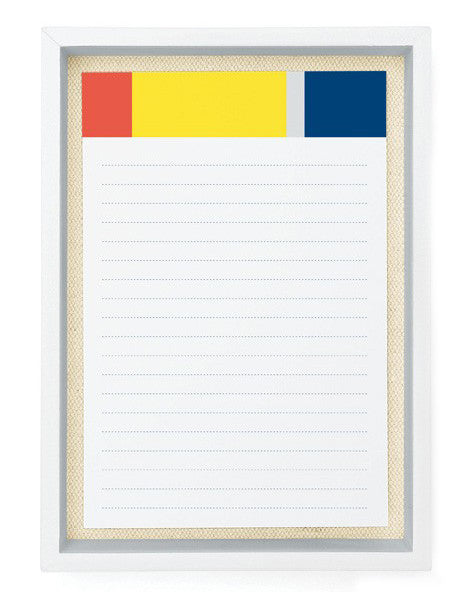 Colorblock Note & Tray Set - LEIF