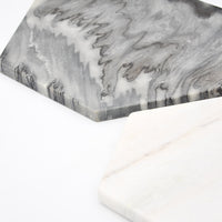 Marble Hexagon Platter - LEIF