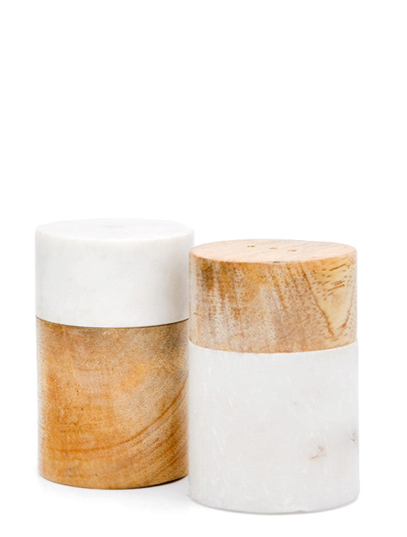 1: Marble Mix Salt & Pepper Shakers in  - LEIF