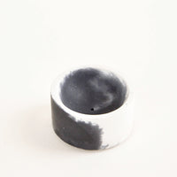 Black / White: Marbled Incense Holder