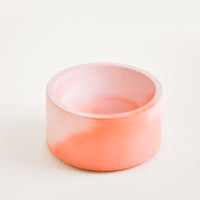 Coral / Pink: Marbled Incense Holder