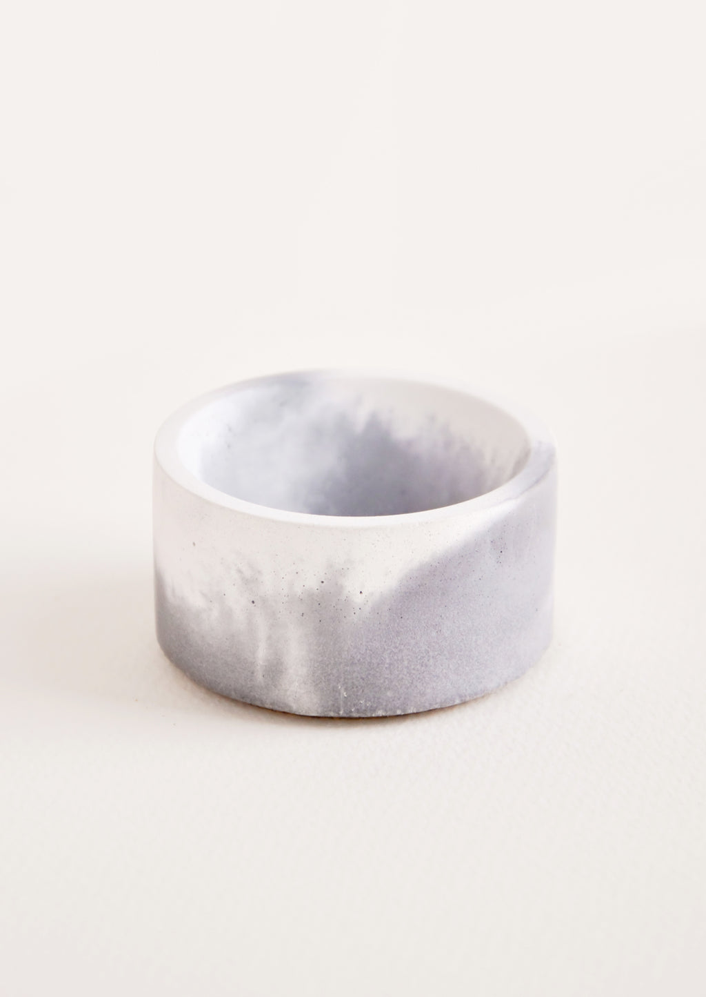 Grey / White: Marbled Incense Holder