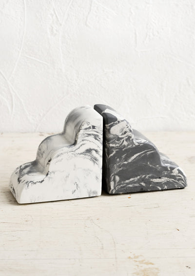 Marbled Cloud Bookends hover
