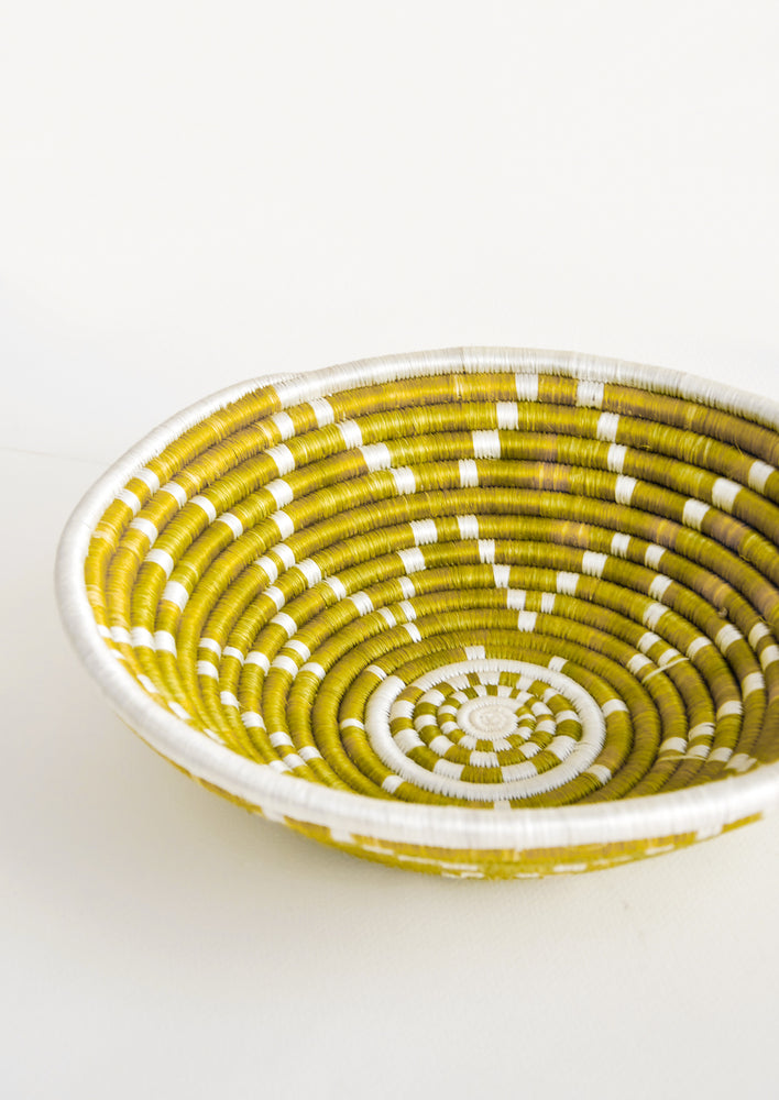 Citron: Mbali Basket in Citron - LEIF