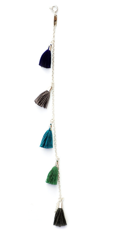 Tassel Bracelet in Deep Sea - LEIF