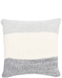Melange Stripe Knit Pillow
