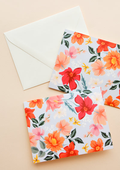 Melbourne Floral Card Set