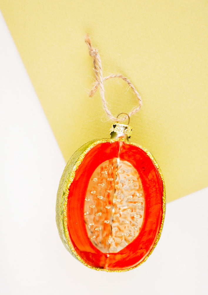 1: Cantaloupe Ornament in  - LEIF
