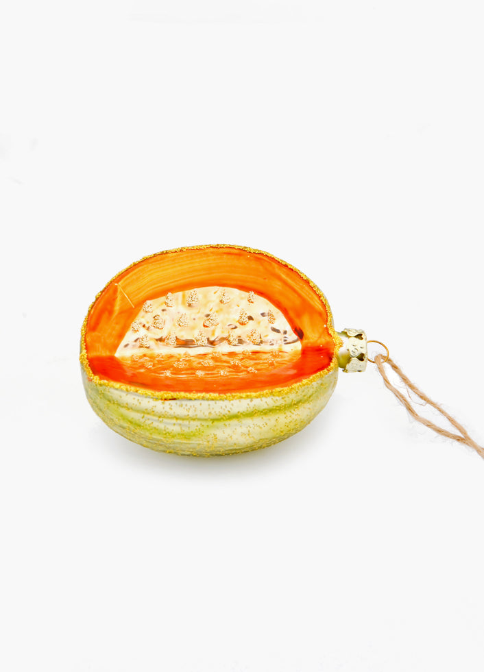 3: Cantaloupe Ornament in  - LEIF