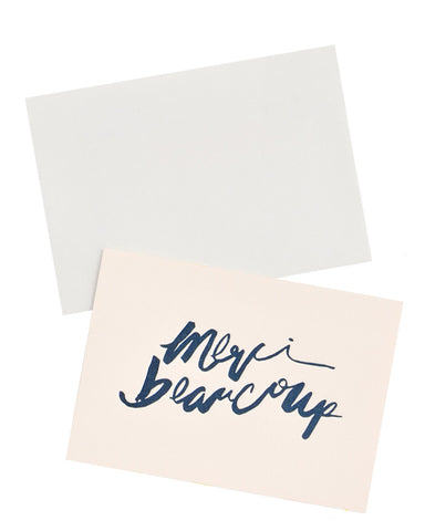 Merci Beaucoup Script Card Set
