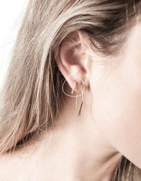 Poke Fishhook Earrings