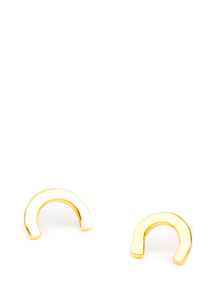 Scale Stud Earrings - LEIF