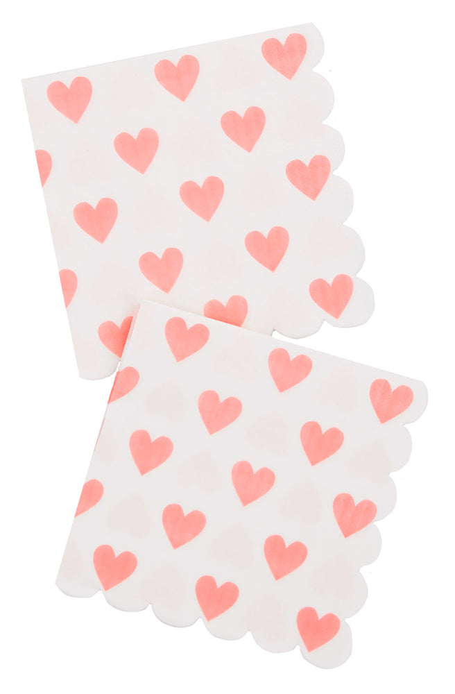 1: Heart Print Paper Napkins in  - LEIF