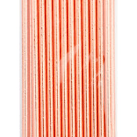 Copper Solid: Metallic Paper Party Straws in Copper Solid - LEIF