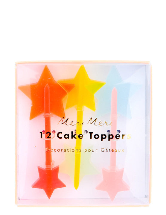 1: Starry Cake Toppers in  - LEIF