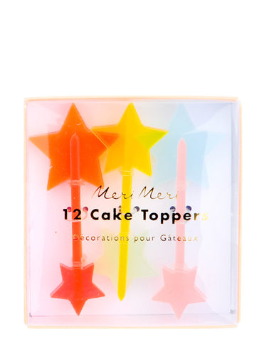 Starry Cake Toppers