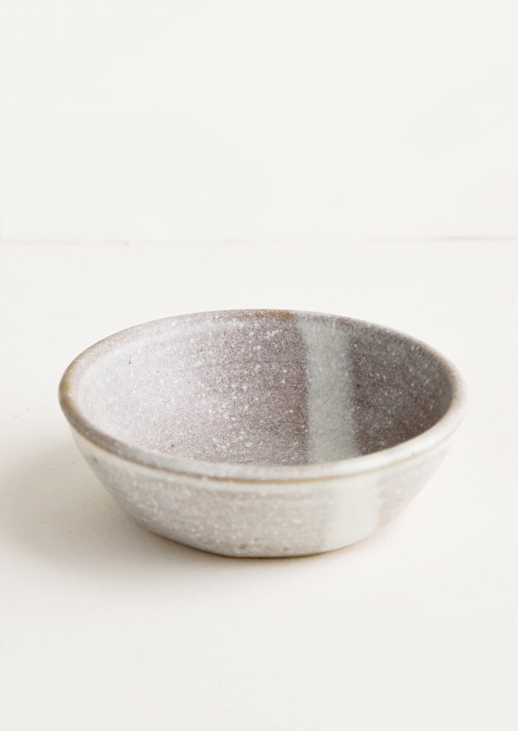 Pinch Bowl / Oat Speckle: Small, handmade ceramic pinch bowl in speckled light brown and white glaze